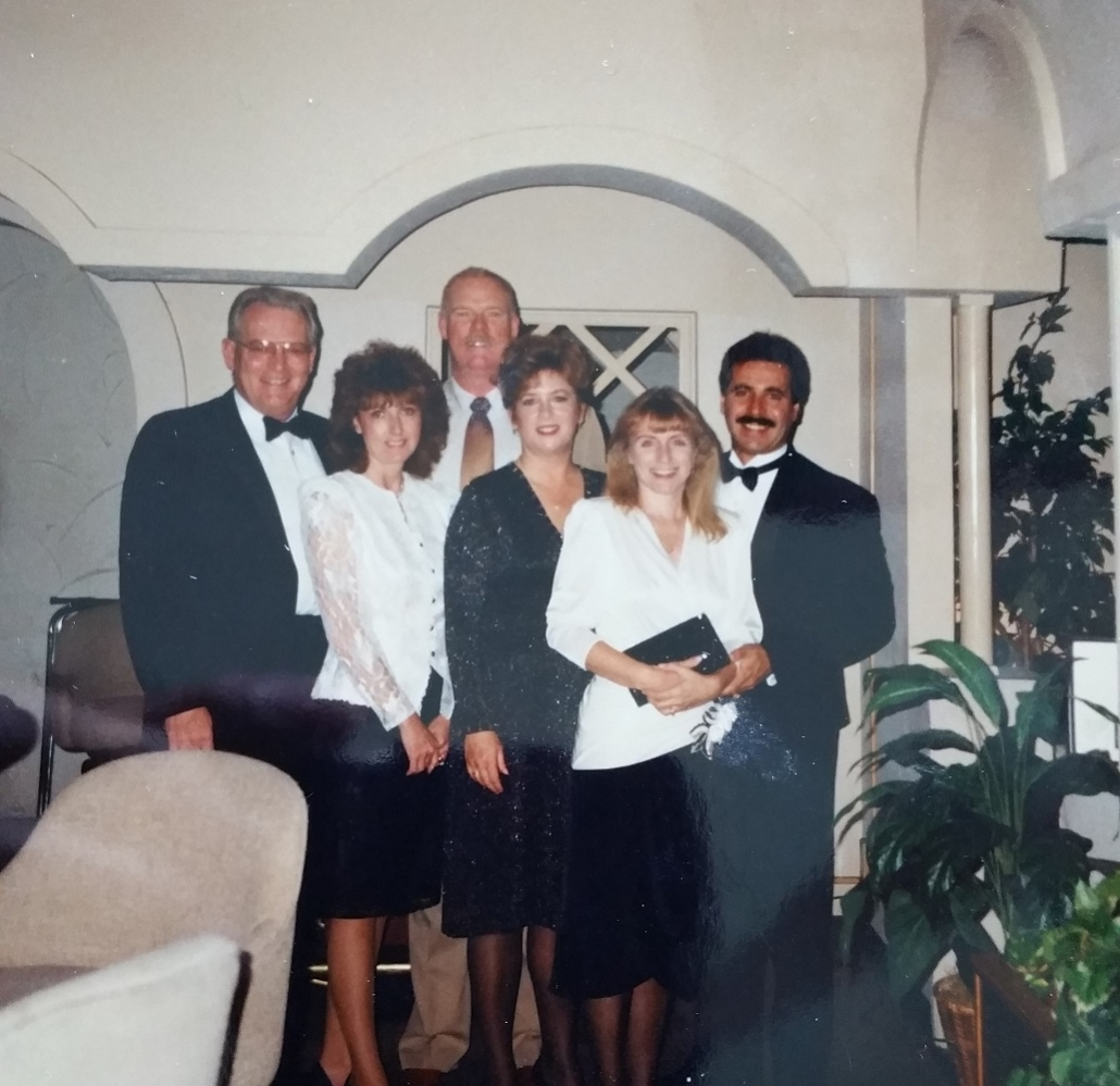 1991 dinner @ Play it again Sams Restaurant