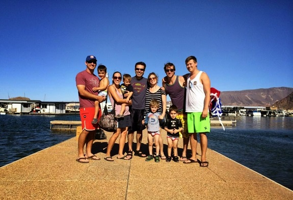 2015 Family at the lake
