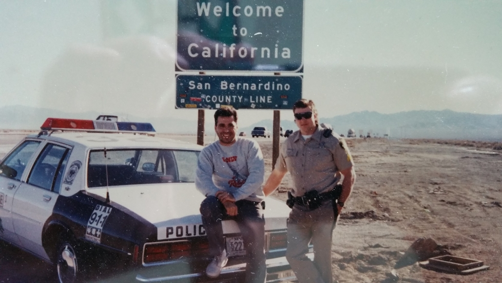 1990 Ron and Sgt Mark Beckerle