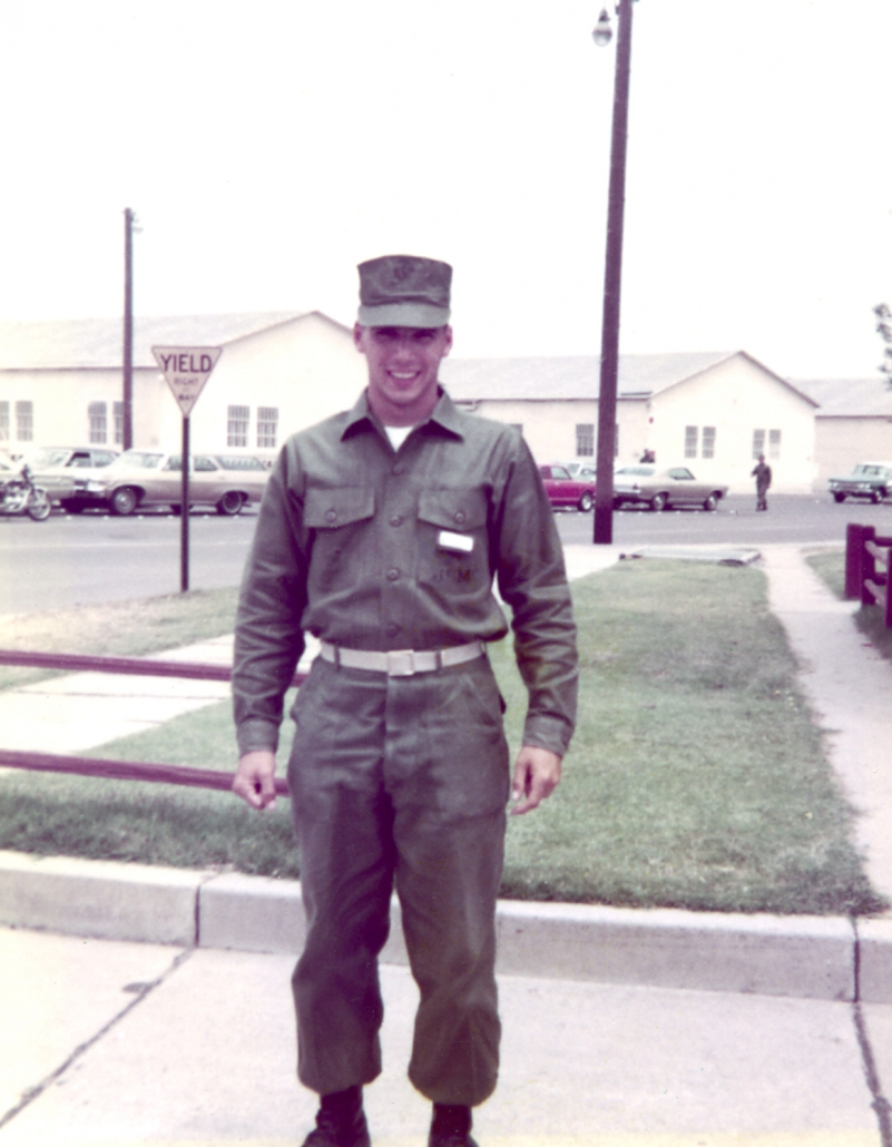 1972 Ron, Camp Pendleton Marine Base