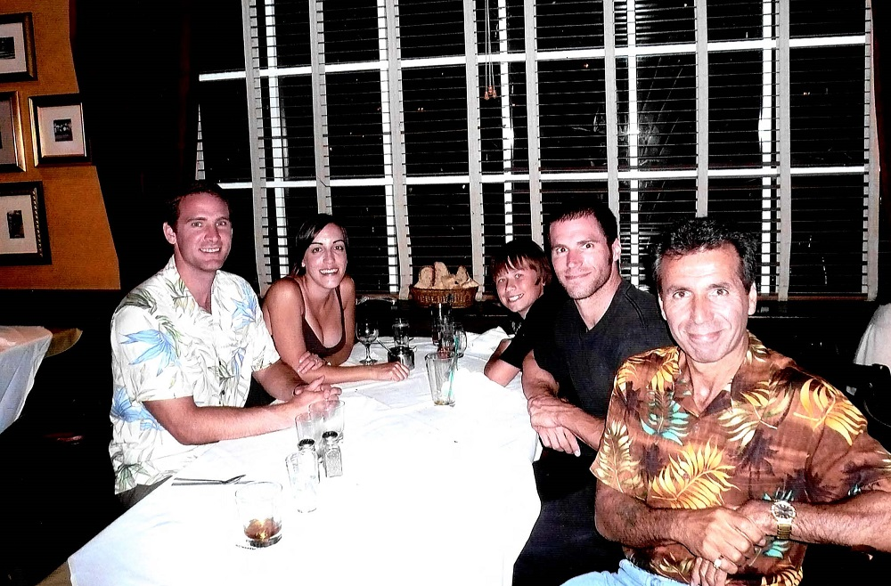 2008 Bahamas Atlantis - Joe & Angela Blagg, Tommy, Joe & Ron Coury