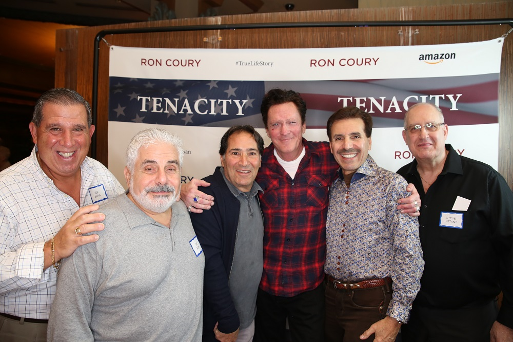 2019 Joe Shaia, Joe Bush, George Kirshy, Michael Madsen, Ron, and Steve Bistany